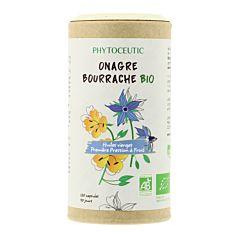 Huile Onagre et Bourrache 120 capsules Bio