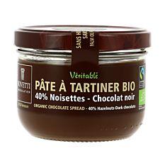 Pate Chocolat Noir Noiset 350G Bio