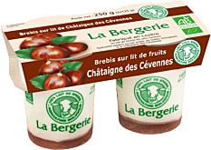 Yaourt Brebis Chataigne 125Gx2 Bio