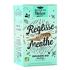 Infusion réglisse menthe 16inf Bio