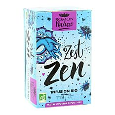 Infusion Zest Zen X16 Sachets Bio