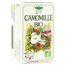 Infusion Camomille 18 infusions Bio