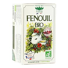 Infusion Fenouil 18 infusions Bio