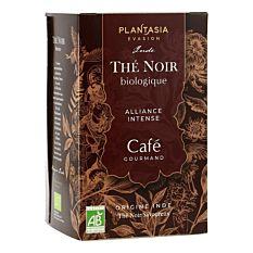 Thé noir au café 18 infusions Bio