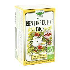 Bien Etre Du Foie 20 Sachets Bio