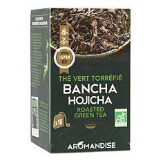 Thé vert torréfié Bancha Hojicha 18 Infusions Bio