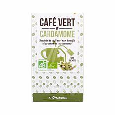 Cafe Vert Cardamome Inf 20G Bio