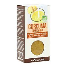 Curcuma Latte Gingembre 60g Bio