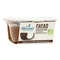 Dessert végétal cacao 100g Bio