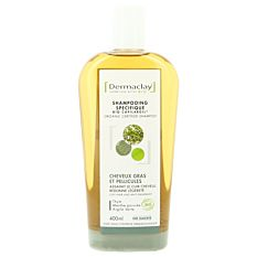 Shampooing à l'argile cheveux gras & pellicules 400Ml Bio