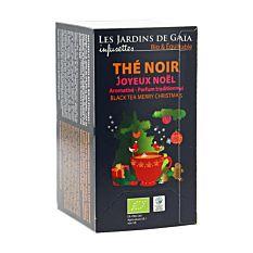 Thé Noir Joyeux Noël - 20 Infusettes Bio