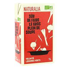 Velouté de Légumes Verts 1L Bio