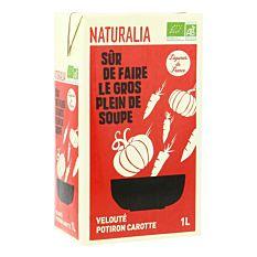 Velouté Saveur Potiron & Carottes 1L Bio