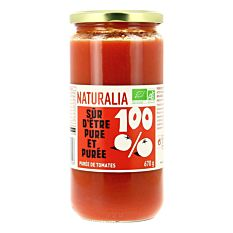 Puree De Tomates 670G Bio
