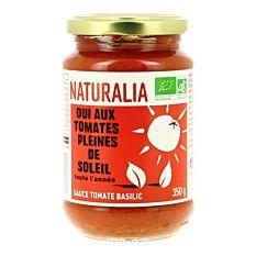 Sauce Tomates Basilic 350G Bio