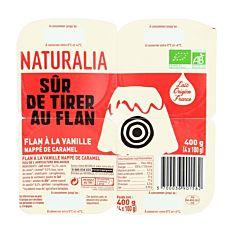 Flan Vanille Caramel 4X100G Bio