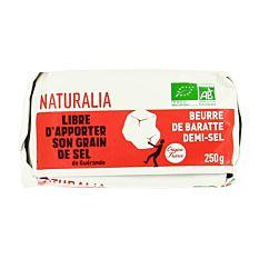 Beurre Baratte Demi-Sel 250G Bio