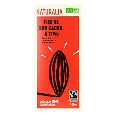 Chocolat noir dégustation 71% 100G Bio