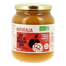 Purée de pommes mangues sans sucres ajoutés 705G Bio
