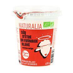 Fromage blanc au lait de brebis 400G Bio
