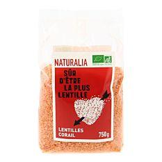Lentilles corail 750G Bio