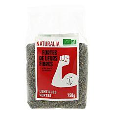 Lentilles vertes France 750G Bio