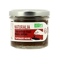 Tapenade noire Naturalia 90g Bio