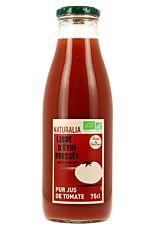Pur jus de Tomates françaises 75cl Bio