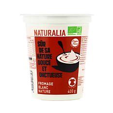 Fromage blanc nature 6% 400g Bio