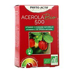 Acérola 500 - 24 comprimés Bio