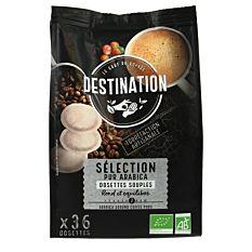 Dosettes de Café souples 100% Arabica x36 Bio