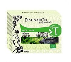 Thé vert Sencha Premium - 20 sachets Bio