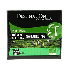 Thé Vert Darjeeling x20 Bio