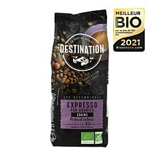 Café Expresso pur Arabica en grains 500g Bio
