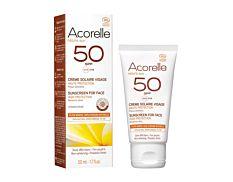 Crème Solaire Visage SPF50 50ml Bio
