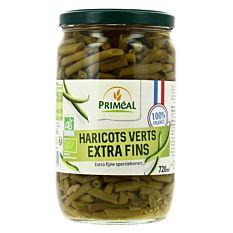 Haricots Verts Extra Fins 720ml Bio