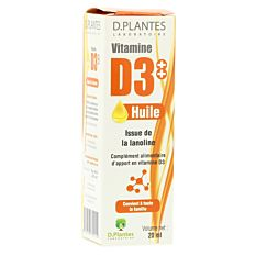 Vitamine D3 D-Plantes