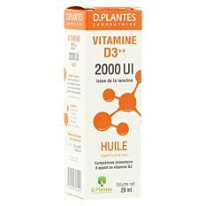 Vitamine D3 200UI