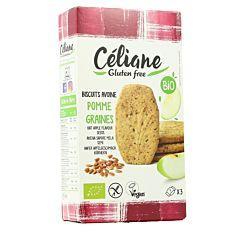 Biscuits petit-déjeuner Avoine & Pomme sans gluten 140G Bio