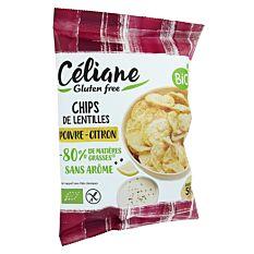 Chips citron poivre 50g Bio
