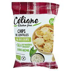 Chips de lentilles ail des ours 50g Bio