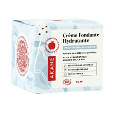 Crème visage fondante hydratante 50ml Bio
