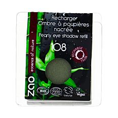 Recharge ombre à paupières nacrée n°108 Gris vert