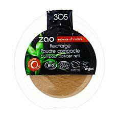 Recharge poudre compacte n°305 Chocolat au lait