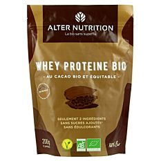 Whey protéines cacao 200g Bio