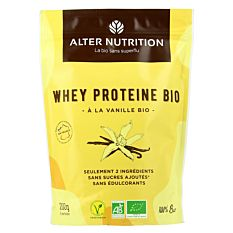 Whey protéine Vanille 200g Bio