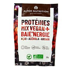 Protéines mix vegan Baie'Nergie 200g Bio