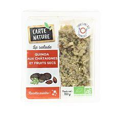 Quinoa Châtaignes et Fruits secs 160g Bio