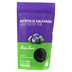 Myrtille sauvage séchée 100g Bio