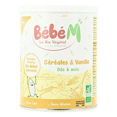 Céréales à la Vanille dès 6M 400g Bio